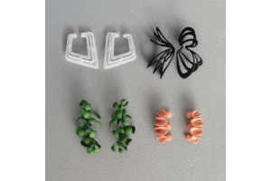 Monocircus Original 3D printed Ear Cuffs